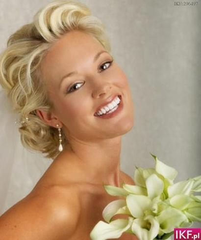 Easy Wedding Makeup Suggestions : swiat kobiety-urody: Fryzury slubne
