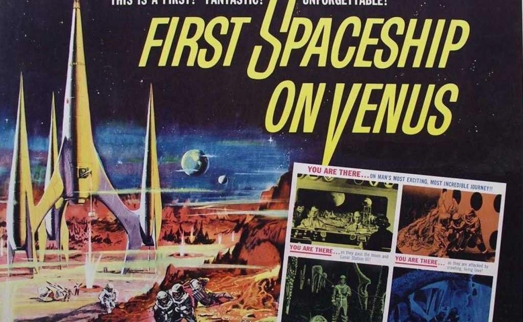 great old movies  first spaceship on venus