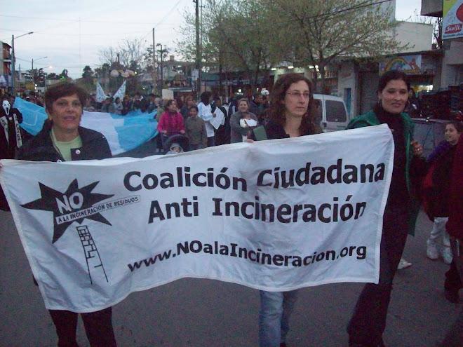 Reunión anual de la Coalición Ciudadana Anti-incineración