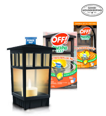 This PowerPad Lamp Runs At $9.49 For The Starter Kit Which Includes 1  Reusable Lamp, 1 Mosquito Repellent Pad, And 1 Candle. The Refills Are  $5.49 And Come ...