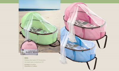 Kushies Baby Easy Fold Baby Bed