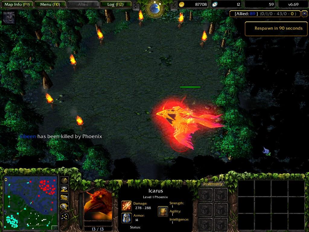 twirltech dota 6 69 hidden quest icarus the phoenix quest guide