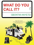 The Crime Comedy that capers from London to Accra then back to Accra.