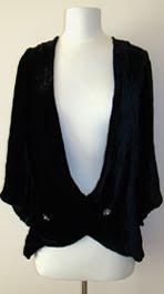 1920's velvet coat@marielscastle.blogspot.com