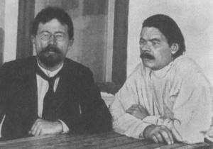Gorky and Chekhov