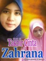 Novel Takbir Cinta Zahrana