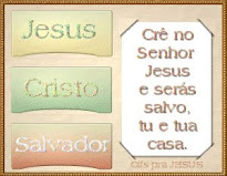 Cr no Senhor Jesus e ser salvo tu e tua casa.