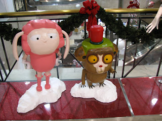 Korean Christmas Decorations at Local Department Store