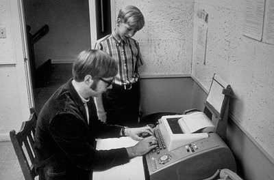 Young Bill Gates, learning by
