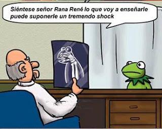 Rana Gustavo Rene humor sorpresa