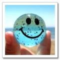 mundo sonriente alegre