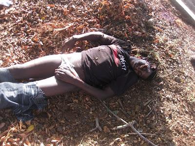caso de haitiano que fue decapitado a 300 metros de la Policía