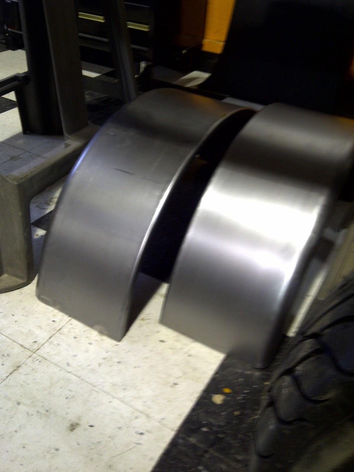 T Bucket Front Fenders : Cap it ford t bucket hot rod assembly update