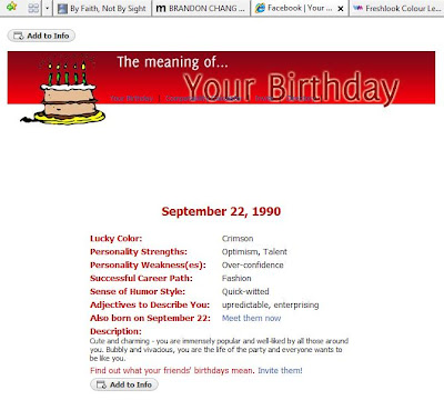 Doll Hours: Birthday meaning and MSN conversation