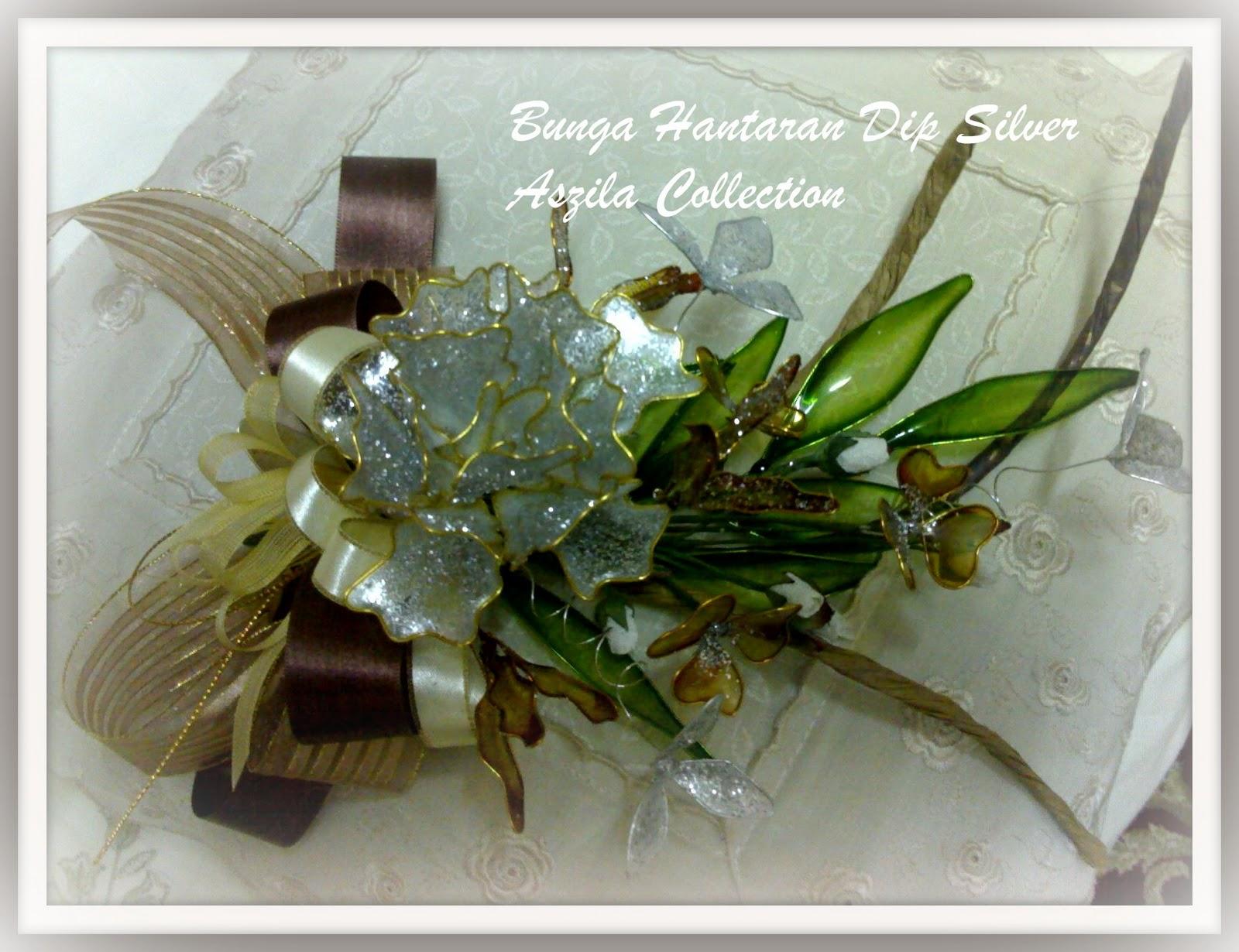 Gerbang Perkahwinan Aszila: Bunga Hantaran Dip - SILVER