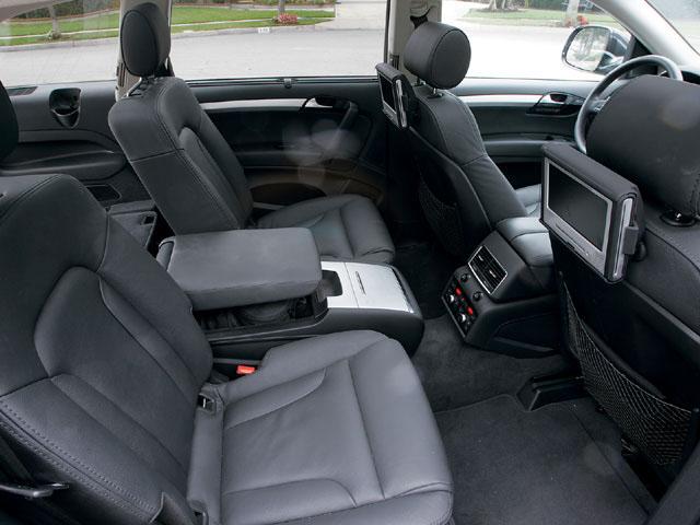 2011 Audi Q7 TDI rank constant