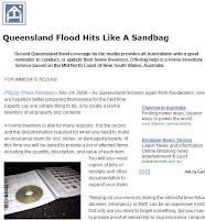 Click To Read - Queensland Flood Hits Like A Sandbag