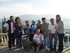 foto bareng (toba lake)