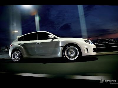 Image: Wallpaper 2009 Subaru Impreza WRX STI A-Line.