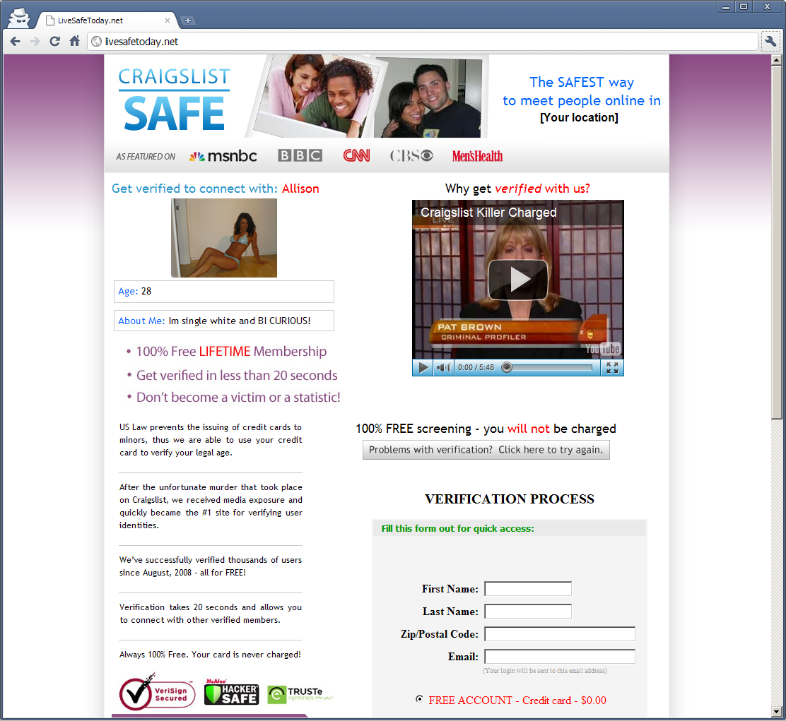 Which dating sites are free and safe