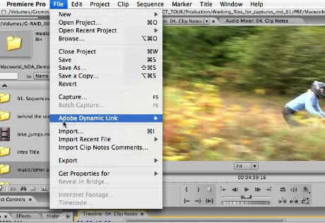 Adobe Premiere Pro screenshot
