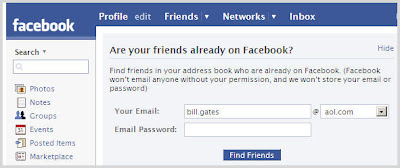 Want More Friends on Facebook Add Contacts from Outlook GMail