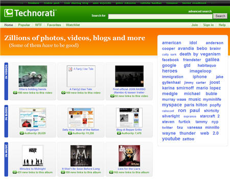 Technorati Design