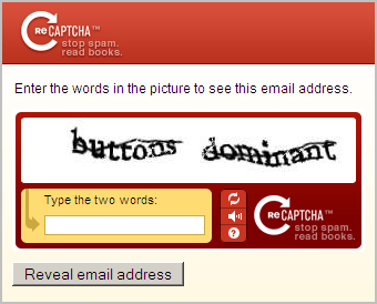 Prevent Spam with CAPTCHA
