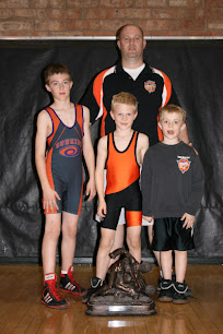 Wrestling, a family activity