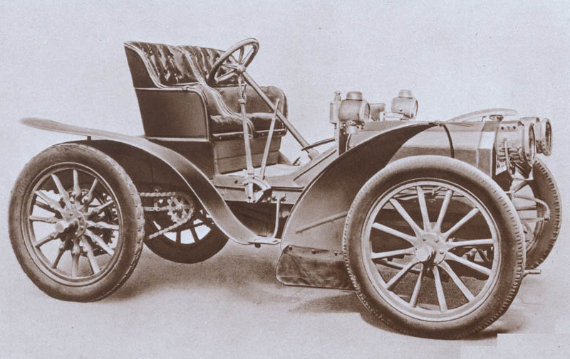 Fiat-24 HP Corsa, 1902. Posted by classic automotives at 8:58 AM