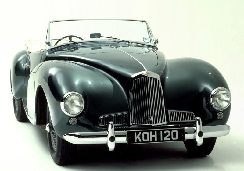 Aston Martin DB1, 1948. Posted by classic automotives at 1:27 AM