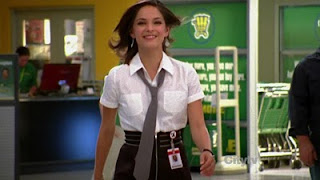 Kristin Kreuk as a Buy More Nerd Herder