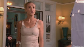Yvonne Strahovski in a wife beater