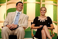 Kristen Bell and Rob Thomas