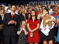 Sarah Palin's family: Todd, Piper, Willow, Bristol, and Trig
