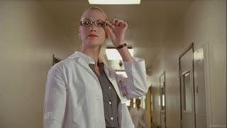 Yvonne Strahovski in glasses