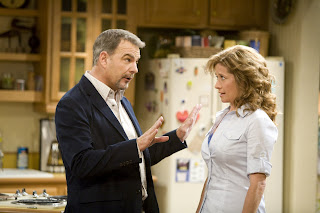 Bill Engvall and Nancy Travis of The Bill Engvall Show