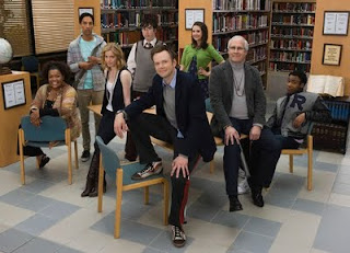 The cast of NBC's Community