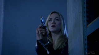 Yvonne Strahovski packing heat