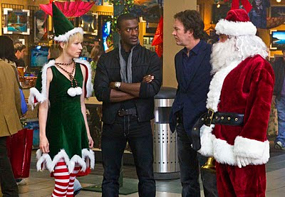 The cast of Leverage get in the holiday spirit