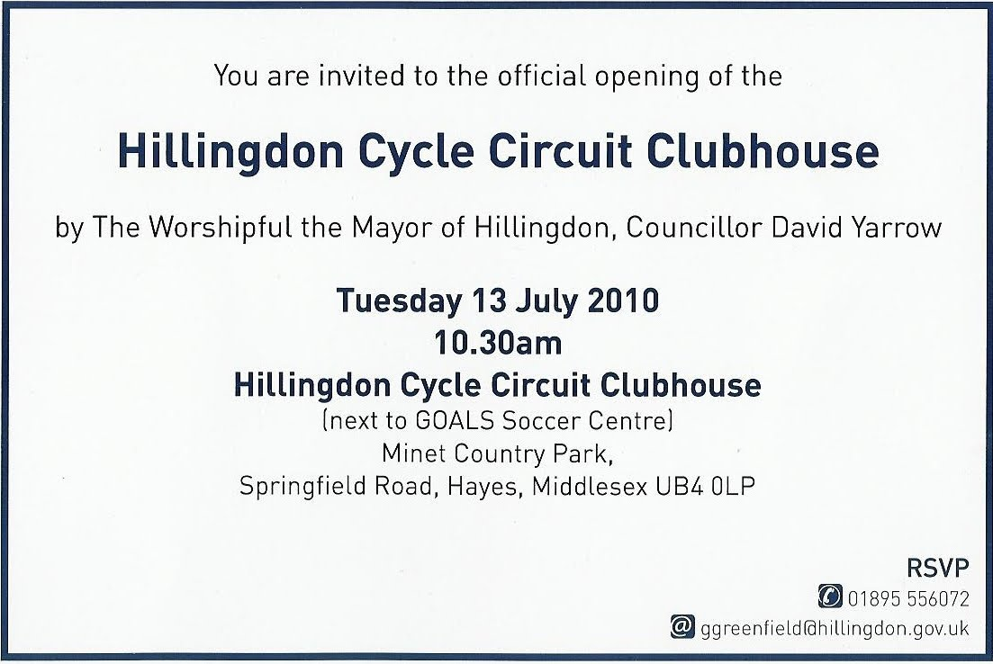 Invitation to official opening of the hillingdon club house all willesden cc members are invited to the official opening of the brand new hillingdon club house on tuesday 13th july stopboris Gallery