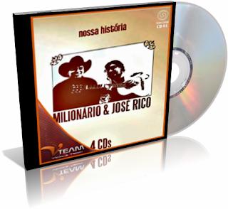 Coletânea 4 Cds Milionário e José Rico