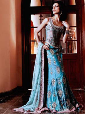 10 Latest Bridal Dresses Collections from Pakistan & India