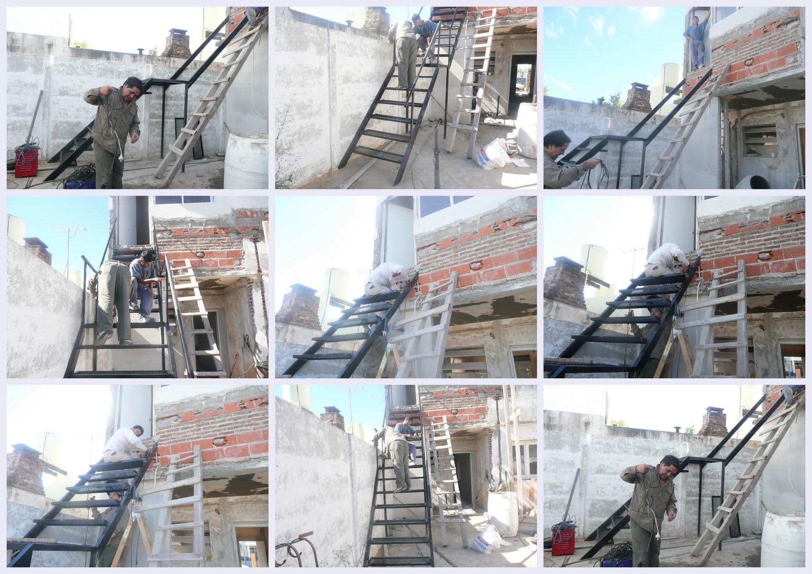 Servigral escalera de hierro for Como hacer escaleras de hierro con descanso
