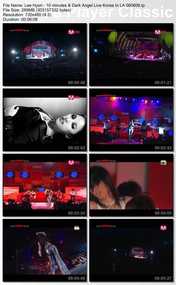 [060606] Hyori - 10 minutes & Dark Angel (Live Korea In LA) [289M/tp] LeeHyori-10minutesDarkAngelLiveKore