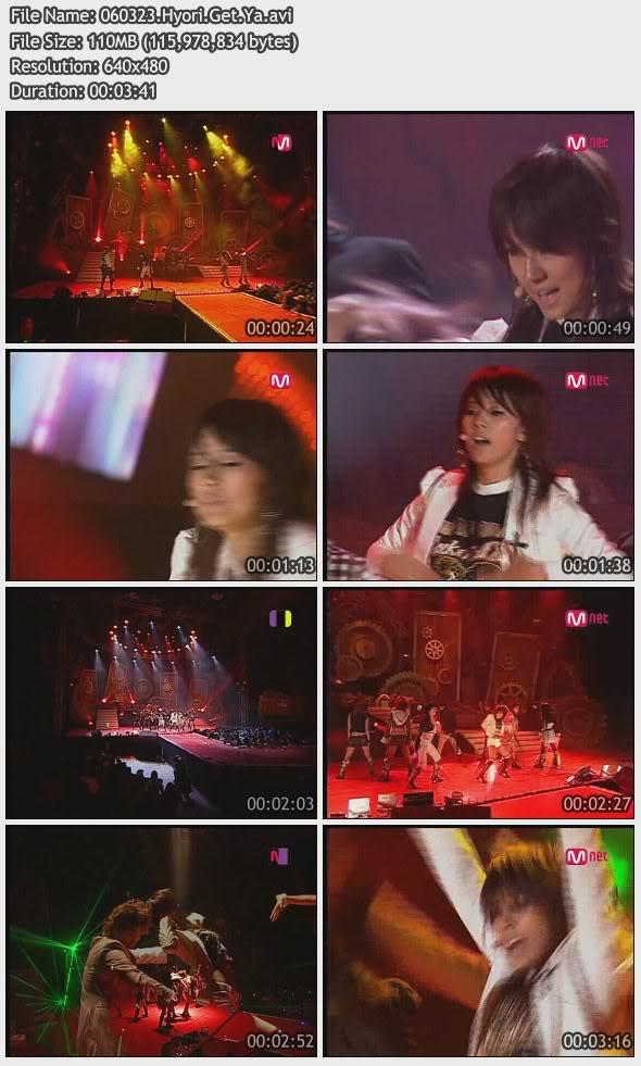 [060323] Hyori - Get Ya [110M/avi] 060323HyoriGetYa