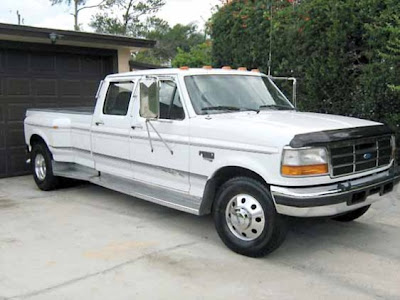 1996 Ford F-350 Powerstroke dually. Are you sensing a trend?