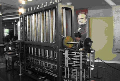 CHARLES BABBAGE ENGINE