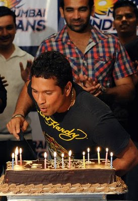 Sachin birthday bash