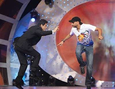 SRK and Harbhajan